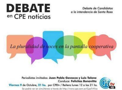 CPEtv: debate de los candidatos a intendente