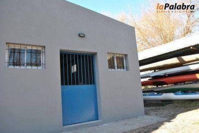 Inauguran las nuevas instalaciones de la Escuela Municipal de Canotaje