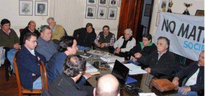 25 de Mayo: el massista Di Salvo se reunió con ruralistas