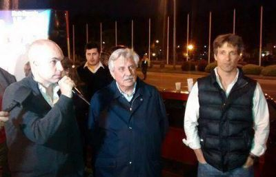 Rodríguez Larreta visitó Tigre para apoyar la candidatura de Casaretto