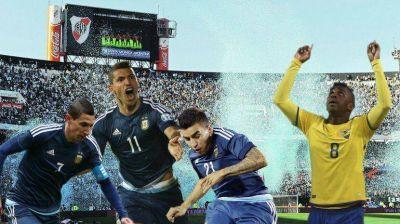 Sin Messi, con Tevez en el banco y ante Ecuador, la Selección arrancará su camino