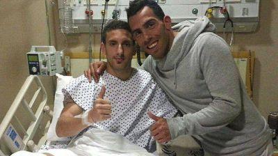 Ezequiel Ham habló por primera vez de la lesión que le provocó Carlos Tevez