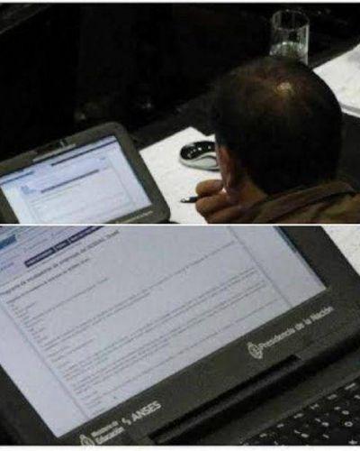 Escándalo en la Cámara: un legislador de Salta usa una netbook del plan Conectar