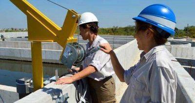 La Presidenta puso en marcha los procesos operativos de la nueva Planta Depuradora de Lanús