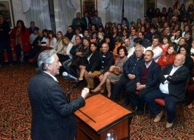 Alberto anunció que profundizará la inversión en salud y educación