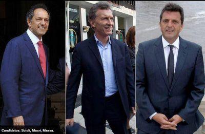 Encuesta: el llamativo sube y baja de Scioli, Macri y Massa en apenas un año