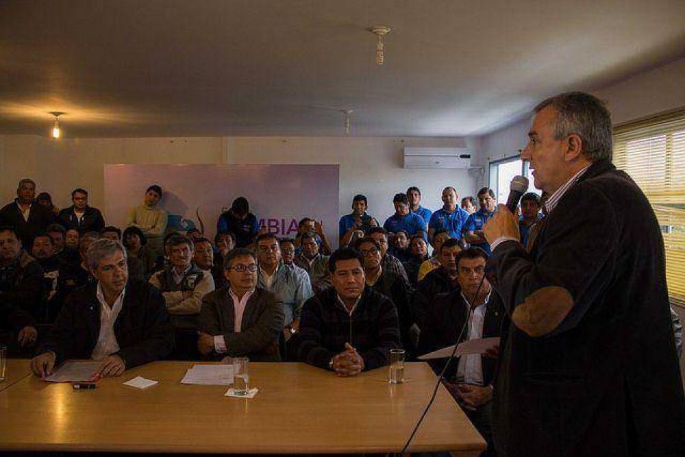 """Morales – """"un representante de los trabajadores formará parte del gabinete"""""""