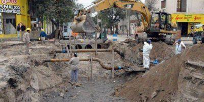 Llaman a licitación pública para realizar el mantenimiento de desagües