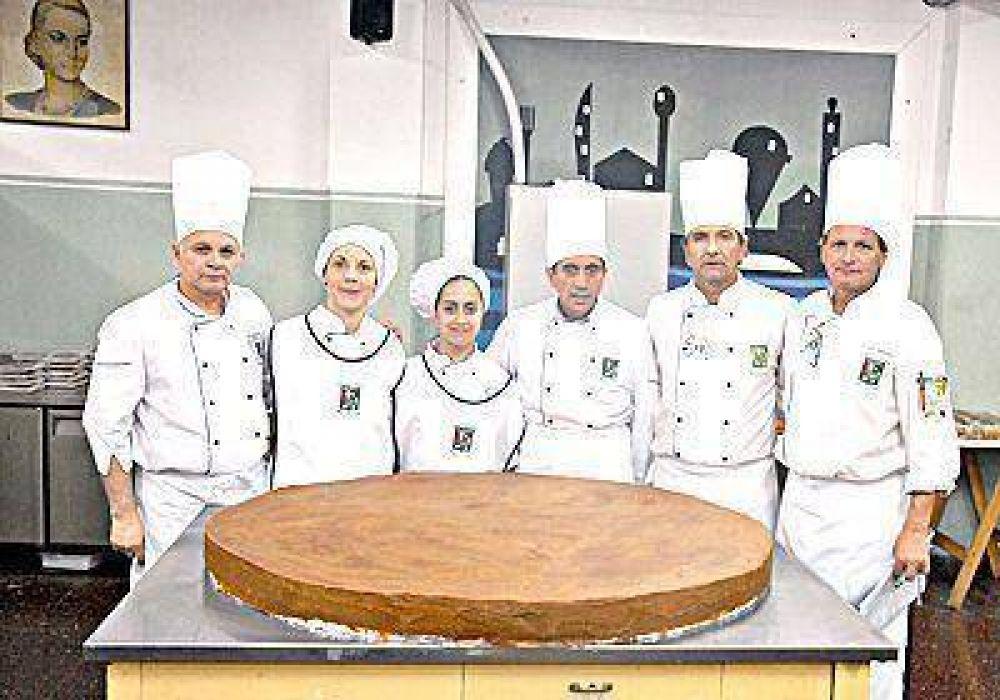 Los pasteleros y sus preparativos a lo grande
