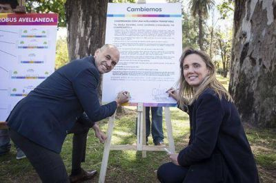 Gladys González presentó su Plan de Movilidad Sustentable, con el Metrobus como eje