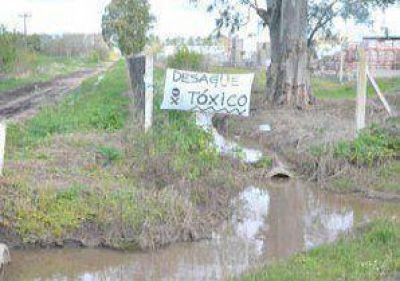 Contaminación en el Parque Industrial: vecinos cortaron la Ruta Nacional 188