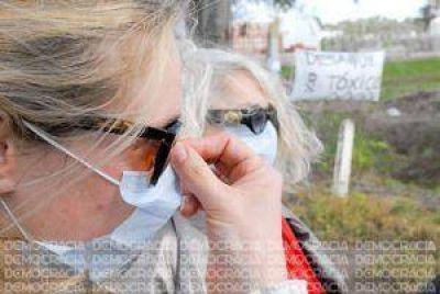 Bronca por la contaminación del agua y el aire en la zona del Parque Industrial