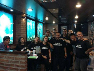 Charla de No Más Violencia en La Plata y jornada final en el Hogar Bethel