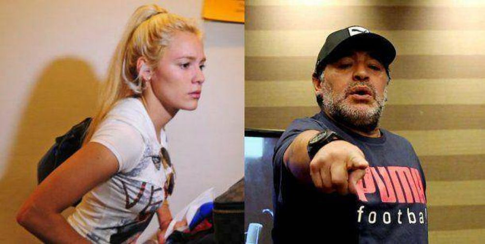 Diego Maradona echó a Rocío Oliva de Dubai y la embarcó en un avión