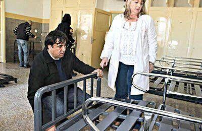 Terminaron las obras de refacción en un sector del Hospital Interzonal