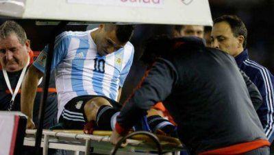 Agüero se perderá el duelo ante Paraguay por lesión y es duda contra Brasil