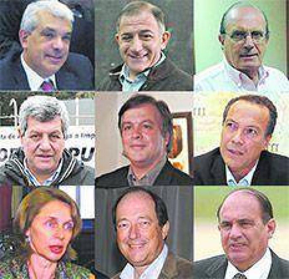 Diputados y senadores de salida