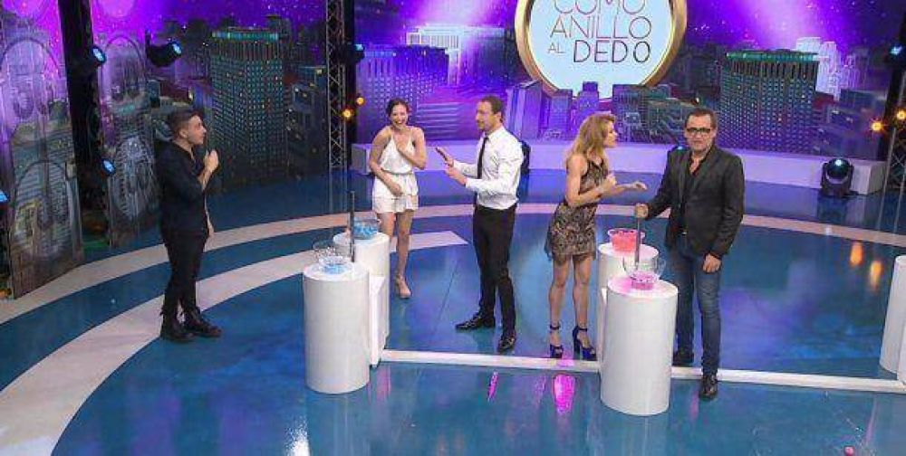 El show de celos y retos de Barbie Vélez y Fede Bal en Como anillo al dedo: por qué se pelearon en vivo