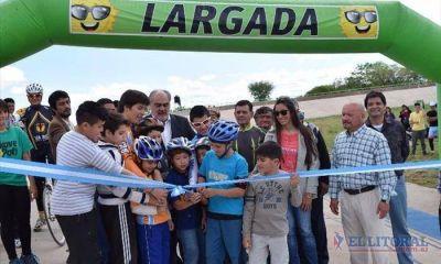 Se inauguró el velódromo provincial