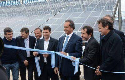 """Inauguraron el Parque de Energía Solar y Eólica """"Papa Francisco"""""""