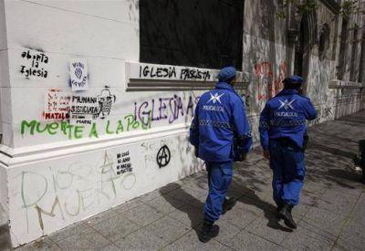 Tras la represión policial, Mar del Plata se convirtió en un foco de vandalismo