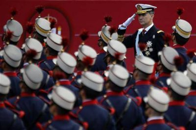 El 12 de Octubre desnudó las fuertes divisiones de España