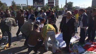 El gobierno turco acusó al Estado Islámico por el atentado en Ankara