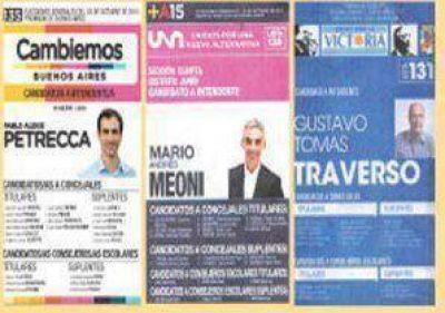 A quince días de las elecciones, aparecieron las boletas juninenses