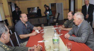 Berni decepcionó en cumbre con gremios, por la inseguridad en Rosario