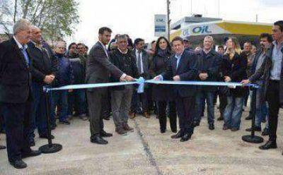 Díaz Pérez y Julián Álvarez inauguraron la Avenida Raúl Alfonsín
