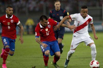 Chile venció a Perú y es uno de los líderes de las Eliminatorias