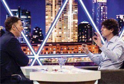 Lousteau se quejó en TV de la exclusión de ECO