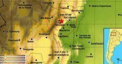 Tembló Tucumán: sismo de 3,2 en la escala de Richter