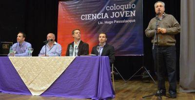 Passalacqua convocó a destacados profesionales para el Coloquio Ciencia Joven