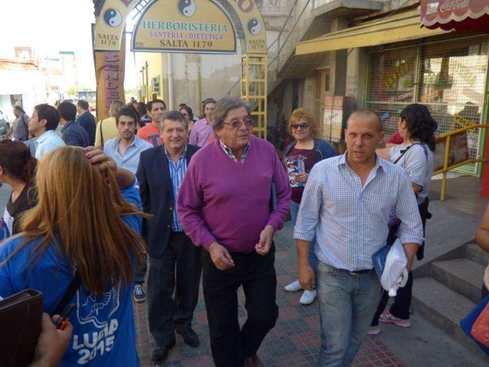 El oficialismo largó las caminatas en Capital