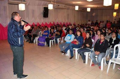 Jofré recordó la importancia de ratificar el apoyo al desarrollo en la Argentina