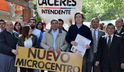 Cáceres busca la reconstrucción del microcentro para que sea más moderno