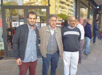 Néstor Pitrola estuvo en Vicente López con los candidatos locales