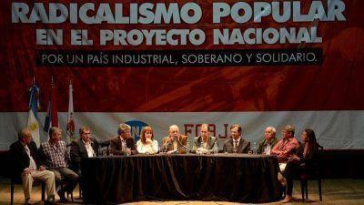 Junto a Bordet y Osuna, el radical Moreau lanzó su espacio en Paraná