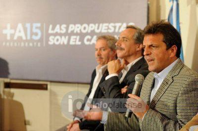 """Massa y Arteaga pidieron la Emergencia en Seguridad y criticaron la """"campaña sucia"""""""
