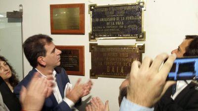 Como hace 10 años, la DAIA fue distinguida por la Legislatura en su 80 aniversario