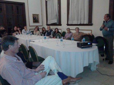 Sánchez expuso proyectos de desarrollo local y distrital