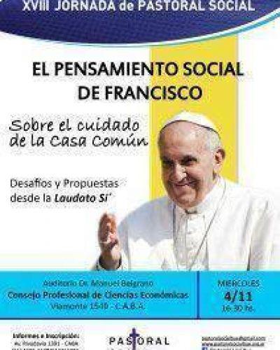 Se lanzó la XVIII Jornada de Pastoral Social