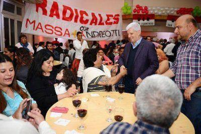 Andreotti recibió el apoyo de parte del radicalismo de San Fernando