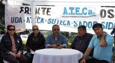 Se firmó el acuerdo en Educación y ATECA levantó el paro