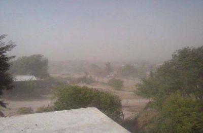Relevamiento de los daños causados por los fuertes vientos registrados en el interior provincial y en la Capital