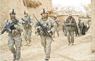EE UU no retira las tropas de Afganistán
