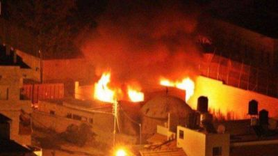 Palestinos incendiaron en Cisjordania la tumba de José venerada por los judíos