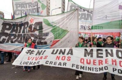 Patria Grande participó del Encuentro Nacional de Mujeres