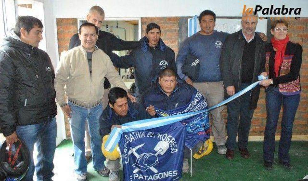 Curetti participó de la inauguración del aula taller del CFP Nº403